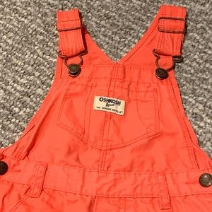 OshKosh B'gosh Bottoms - Toddler Shorts Overalls - OshKosh